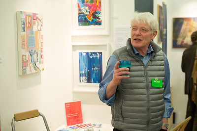 Kjell Folkvord talks about his paintings